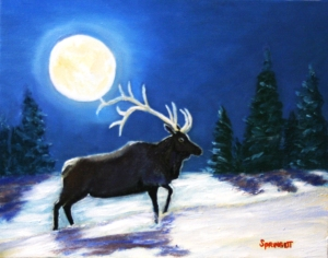 Bull Elk-Moon-C-4-JES copy